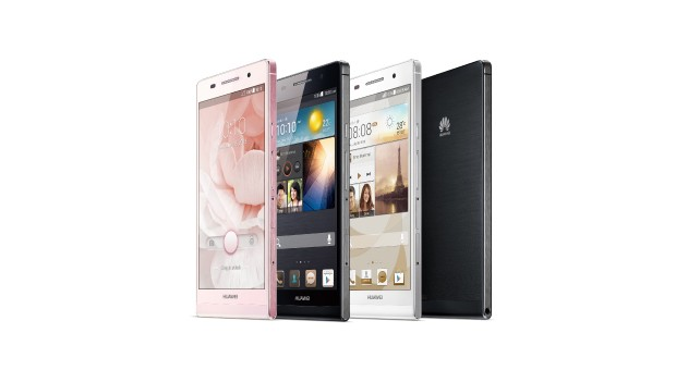 Huawei Ascend P6 announced with 15GHz quadcore processor and 618mm thick body