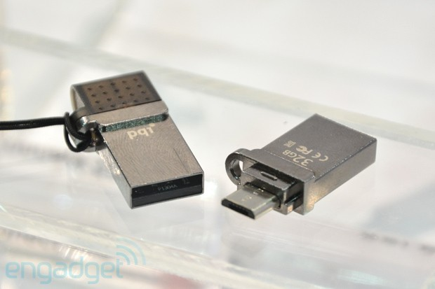 PQI unveils upcoming microUSB drives and USB OTG accessories