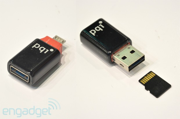 PQI unveils upcoming microUSB OTG drives and accessories