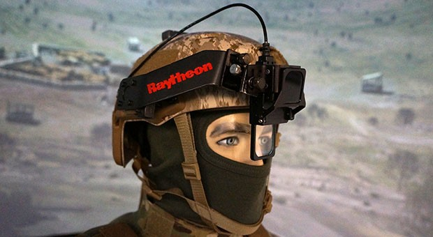 Raytheon's updated JTACs system lets soldiers call in airstrike targets by looking at them