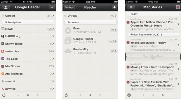 Reeder for iPhone goes free, gets Google Reader alternatives soon