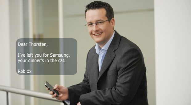 Samsung lures former BlackBerry UK chief for EU business unit