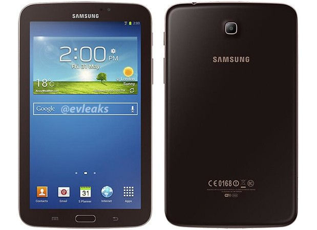 Samsung Galaxy Tab 3 70 and 80 spotted in golden brown hues