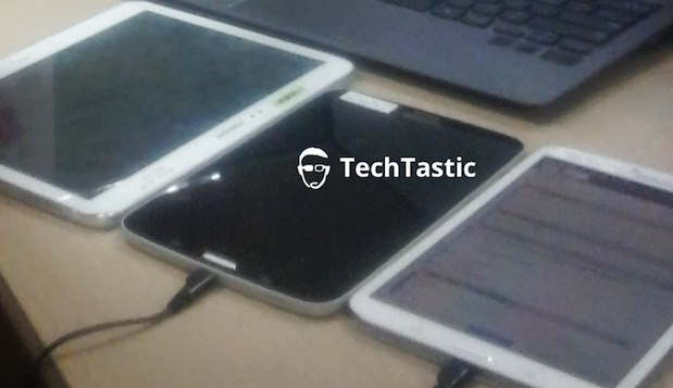 Leaked images reveal two-tone Samsung Galaxy Tab 3 8.0