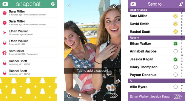 Snapchat 50 for iOS brings a much cleaner, swipedriven interface