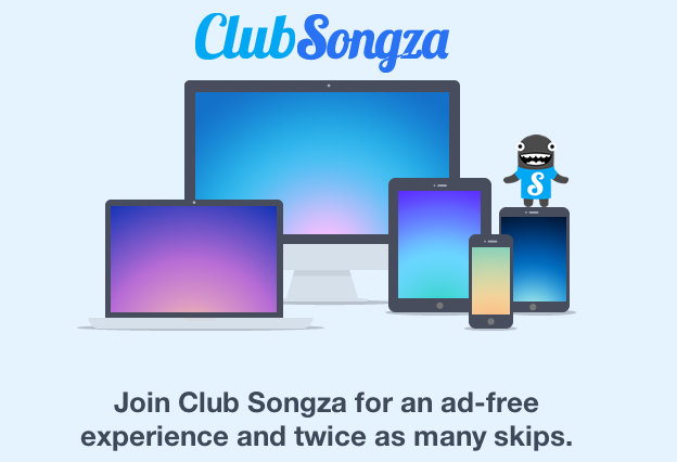 Songza introduces paid adfree service, costs $099 a week