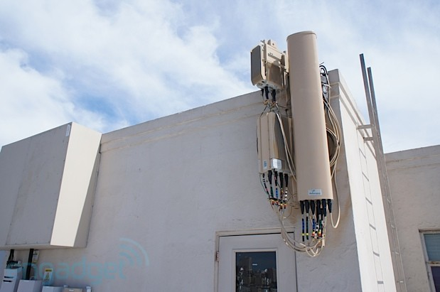 Sprint testing LTE cell sites in San Francisco, we go handson