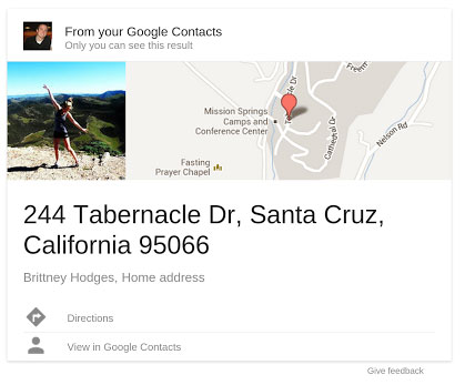 Google Field Trail adds Gmail contact info to search results, promises Google profile support soon