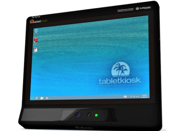 SoftKinetic adds integrated 3D interface to TabletKiosk tablets