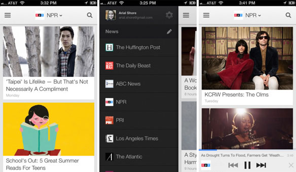 Google Currents for iOS update with audio playlists, vertical article pgaination and pinchtozoom imagery
