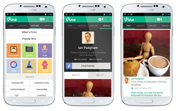 Vine finally arrives on Android