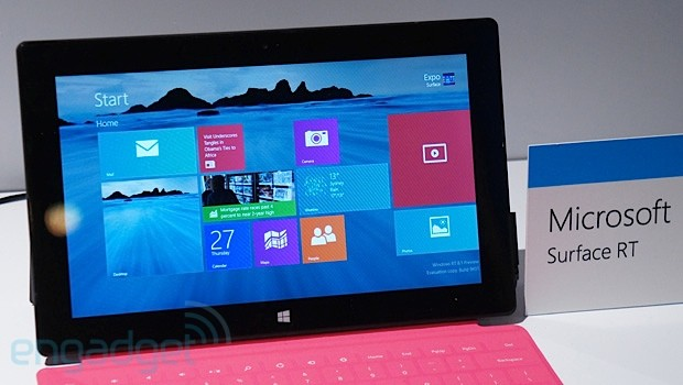 Windows 8.1 RT looks just like regular Windows 8.1, performance hasn't changed
