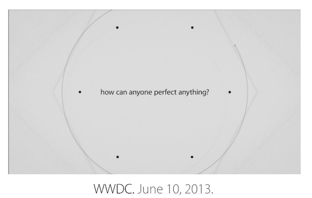 Apple's WWDC 2013 keynote video now available for replay