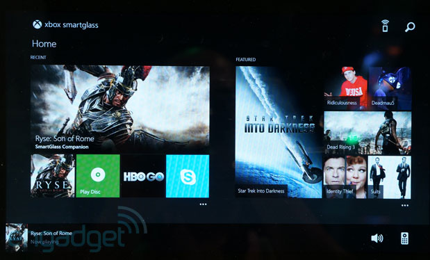 Xbox One SmartGlass handson