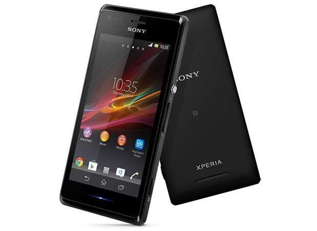 Sony unveils the Xperia M 4inch FWVGA display, dualcore 1GHz CPU, 5MP camera