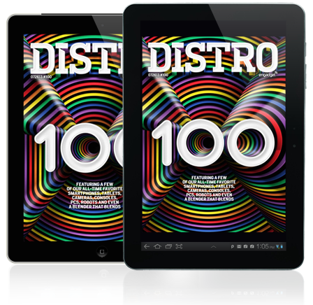 Distro Issue 100 A look at our alltime favorite gadgets