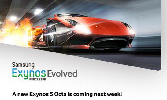 Samsung new Exynos 5 Octa SoC coming next week