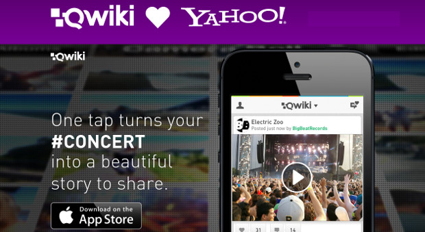 Yahoo acquires video sharing startup Qwiki