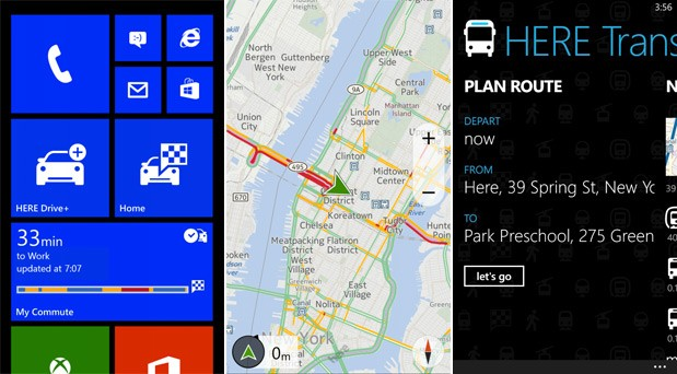 Nokia to update Here Drive and Transit apps, release Drive for all WP8 handsets