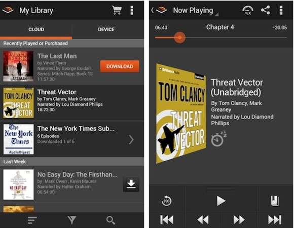 Audible for Android gets design overhaul, improved library management and more
