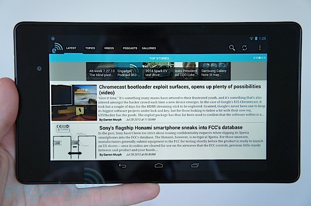 DNP Nexus 7 review 2013
