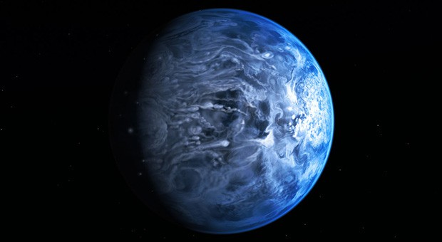 Hubble researchers identify color of an exoplanet for the first time (video)