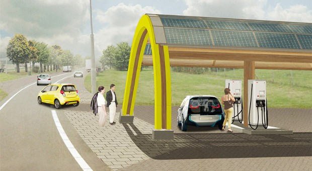 ABB to build over 200 EV charging stations in the Netherlands' network
