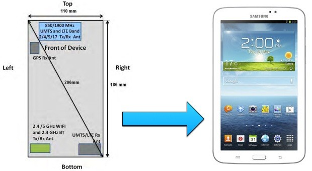 FCC certification hints at 7inch Galaxy Tab 3 for AT&T