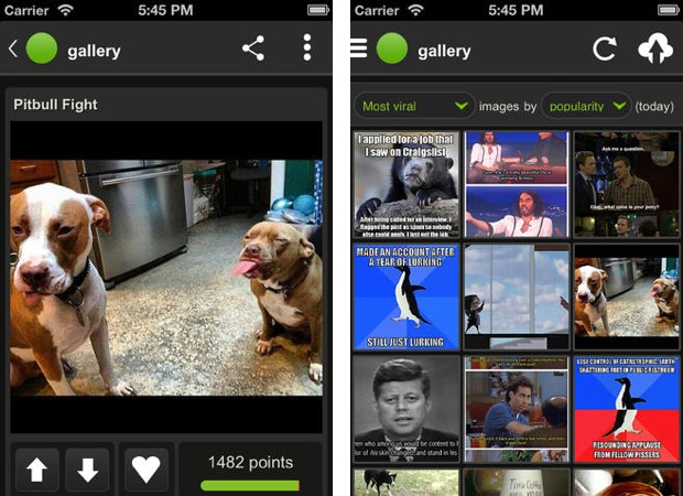 Imgur for iOS arrives with an endless supply of distractions