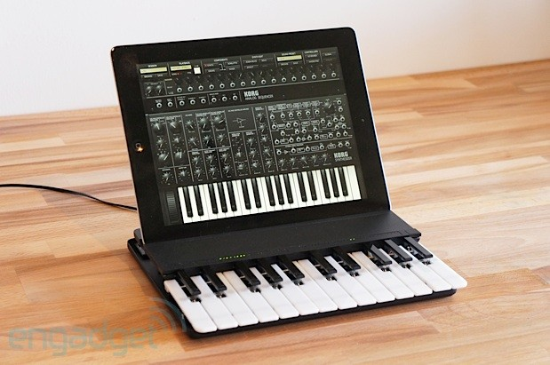 Miselu launches C24 wireless music keyboard for iPad, we go handson video