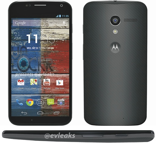Moto X waves hello, again in leaked press render