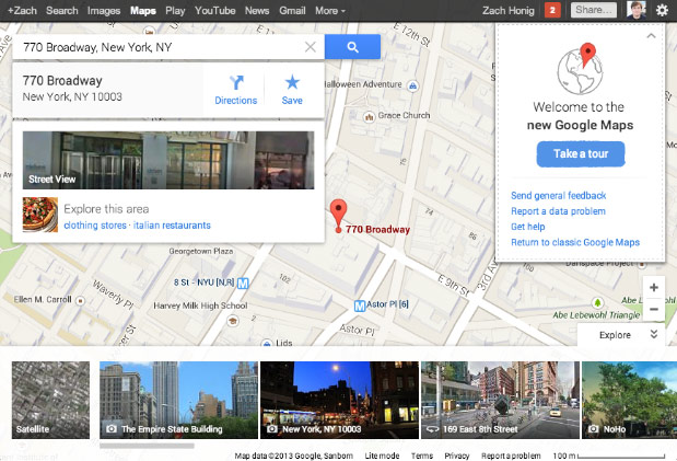 Google simplifies Maps preview with instant access