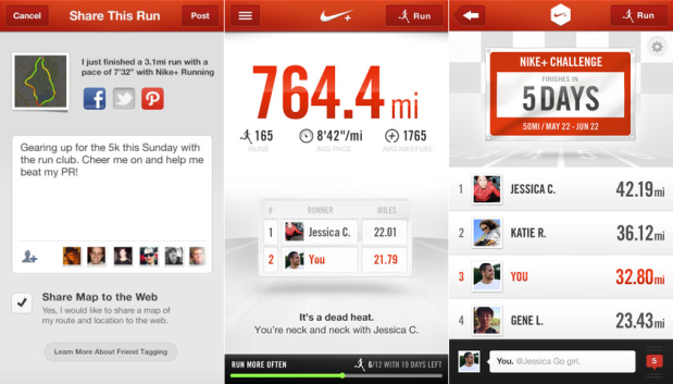 DNP Nike updates adds trash talking, err 'group chats'