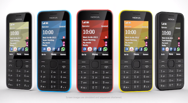 Nokia announces the 207 and 208, calls them its 'most affordable 3G devices yet'