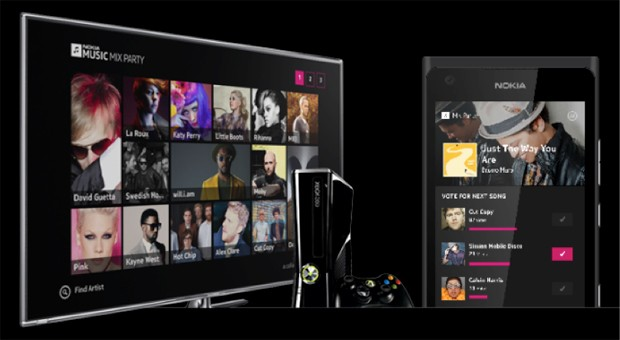 Nokia Music Mix Party lets friends share an Xbox music stream