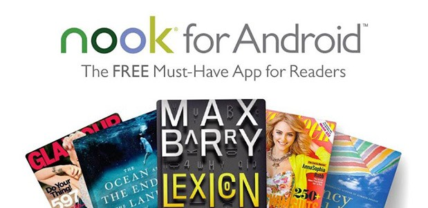 DNP Nook for Android now supports HD magazines