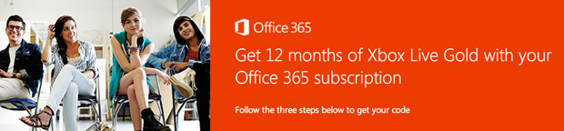 Office 365 subscription now includes 12 months of free Xbox Live Gold (but not in the US)