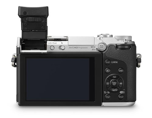 Panasonic GX7 specs and images leak, show tiltable EVF and 108060p video
