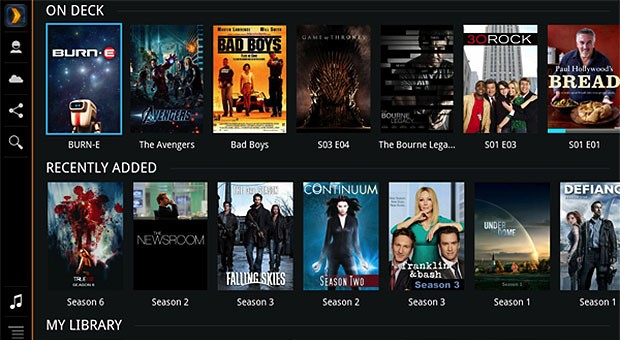 Plex for Google TV updated, brings more large screen love