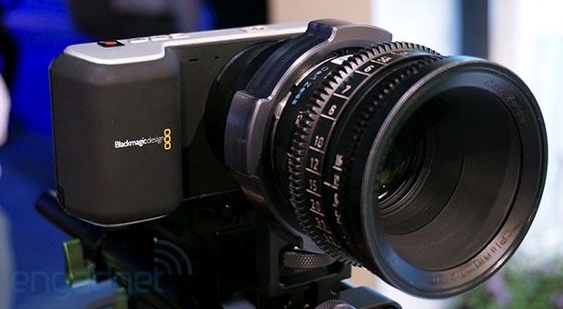 Blackmagic's 4K camera delayed, Pocket Cinema model to ship soon