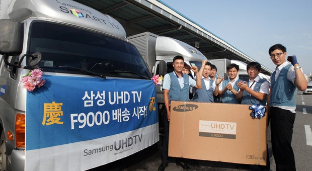 Samsung ships its 55 and 65inch 4K TVs to Korea, slightly later than promised