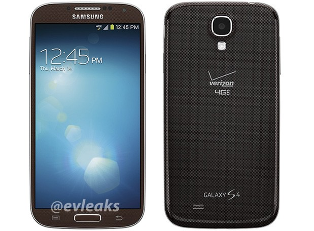 Samsung Galaxy S 4 for Verizon possibly spied in Brown Autumn