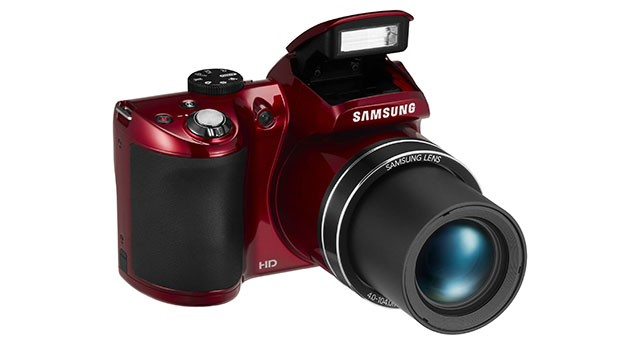 Samsung unveils 20megapixel WB110 bridge camera with 26x optical zoom