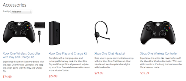 DNP Xbox One Wireless Controller, Play and Charge kit and Headset up for preorder