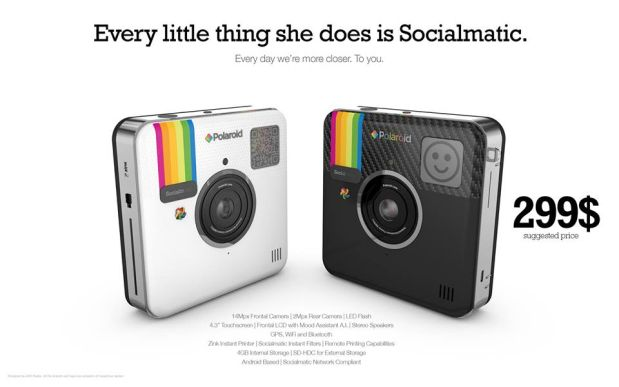 DNP Socialmatic camera priced, channels Sting for marketing tagline