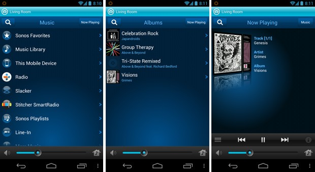 Sonos for Android now streams on-device music