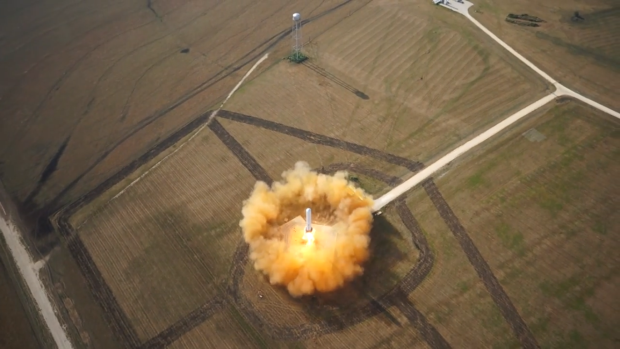 DNP SpaceX tests new rocket, totally sticks the landing