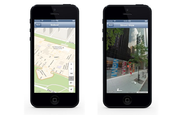 Google Maps SDK v14 for iOS brings Street View, indoor maps to your app