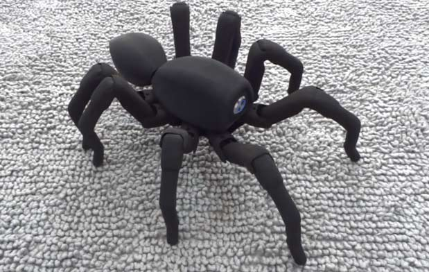 Robugtix's 3Dprinted T8 spiderbot will terrify your friends for $1,350 video