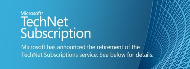 Microsoft to wind down TechNet subscription service from August 31st